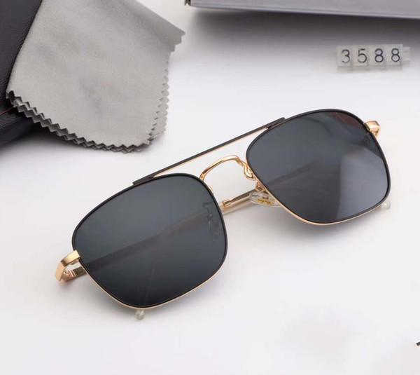 Nueva versión superior Gafas de sol con lentes polarizadas Gafas de sol Moda Tendencia Gafas Gafas accesorios originales 3588 #