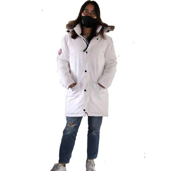 Winter warm parka women, brands long parka femme, jacket mujer real fur collar Thickening Cotton Jacket Womens Outwear