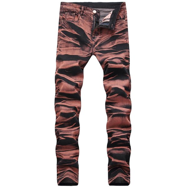 2018 Moda Hip Hop Patch Hombres Retro Jeans Rodilla Agujero Rap Zipped Biker Jeans Hombres Slim Destroyed Ras Ripped Denim Man