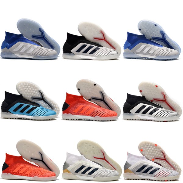 2019 zapatos para hombre de fútbol de salón zapatos de fútbol Predator Tango 19 + EN TF IC botas de fútbol Predator 19 scarpe calcio