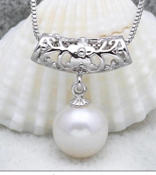 FREE SHIPPING + + + Natural shell nacre pearl pendant engraved cylinder natural beauty