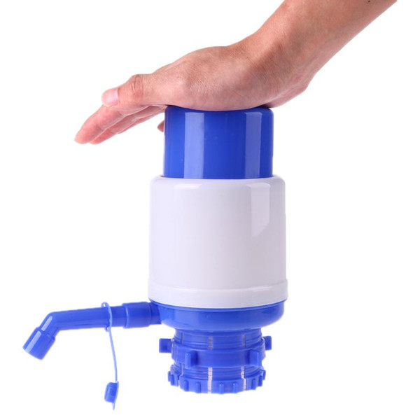 Portable Bottled Drinking Hand Pressure Pump Pressure Water Fountain Outdoor Office Camping Hand Water Dispenser
