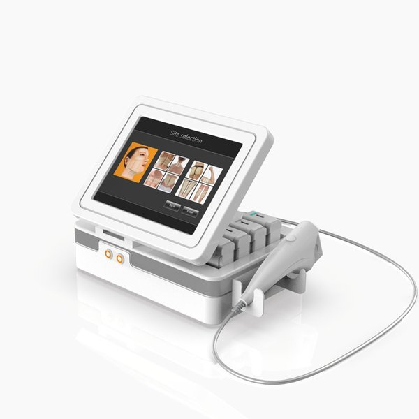 11 Lines Real HIFU High Intensity Focused Ultrasound 3D Hifu Face Lift Machine Anti Aging With 5 Cartridges For Face Body