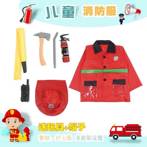 Crianças # 039; s bombeiro roupa