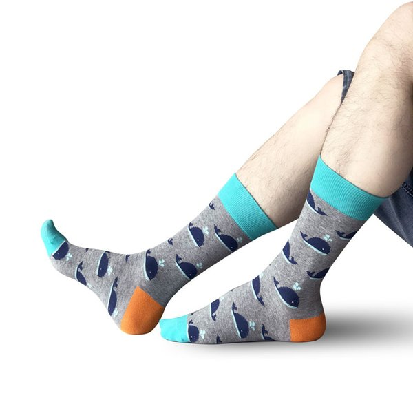 Hot Sale Lovely Animals Happy Socks Fashion Unisex Cotton Long Stocking Funny Socks Casual Dress Stocking For Running Camping Jogging M167Y