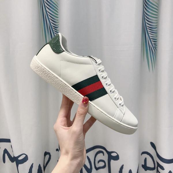 2019r nouvelle rue luxe concepteur amoureux chaussures chaussures bas pour aider de haute qualité chaussures de sport à rayures occasionnels de la mode hommes et femmes chaussures de sport