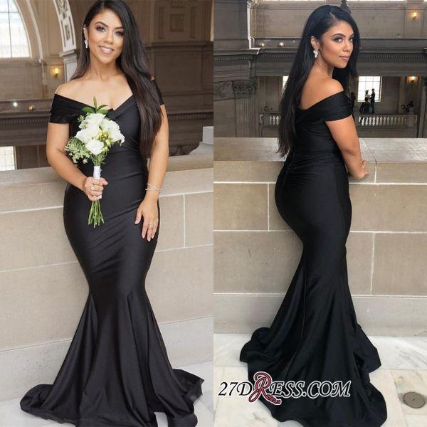 Vestidos de Fiesta Black Prom Dresses Long Cheap Off the Shoulder Evening Gowns Cocktail Party Formal Dress Robes de Soiree