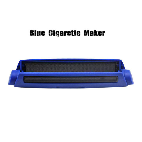 Plastic Automatic Rolling Machine Cigarette Tobacco Roller 110MM King Size Papers Cigarette Rolling Cone Paper Smoking Pipe Herb Grinder