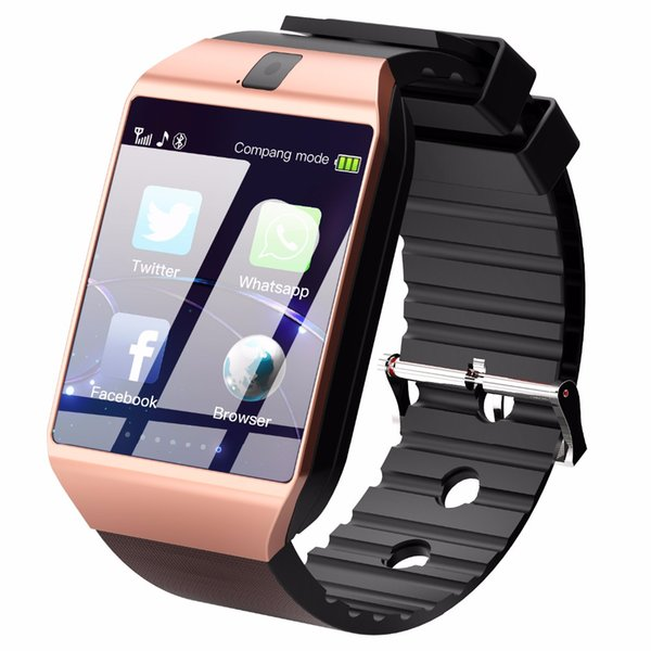 Dz09 bluetooth smart watch smartwatch tf sim kart kamera iphone samsung huawei android telefon için pk y1 q18
