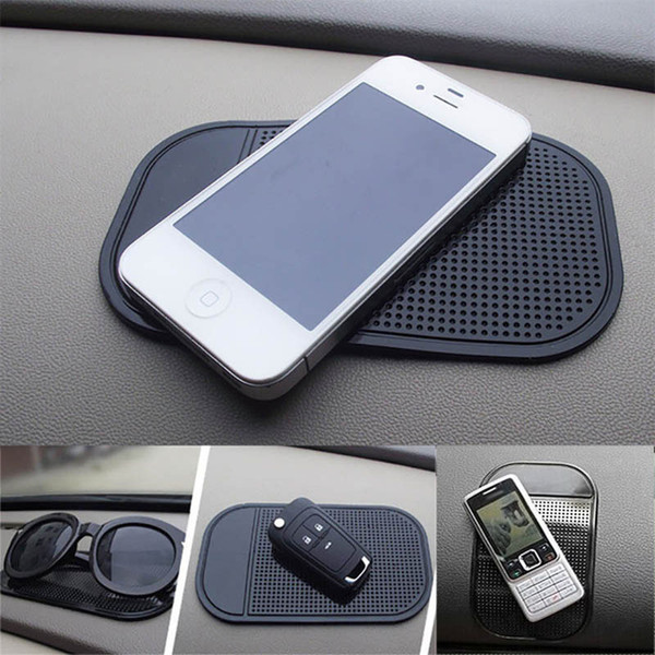 best selling Car Anti-Slip Dashboard Sticky Pad Mat For Phone Glasses Magic Sticky Gel Pads Holder Auto Interior Silicone Mat In Free DHL WX9-1236