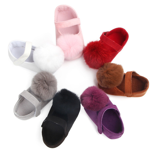 New Baby Girl Shoes Lace PU Leather Princess Baby Crown Shoes First Walkers Newborn Moccasins Wedding Party For Girls
