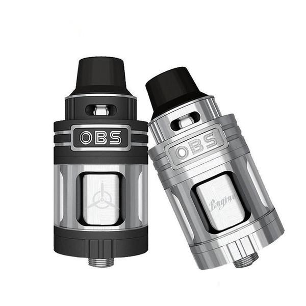 Stylo original authentique OBS moteur RTA RBA vape atomiseur Top Recharge 25 mm 304 réservoir pour 5,2 ml RX2 / 3 mod cigarette électronique