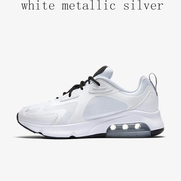 3 # Silver Metallic Bianco