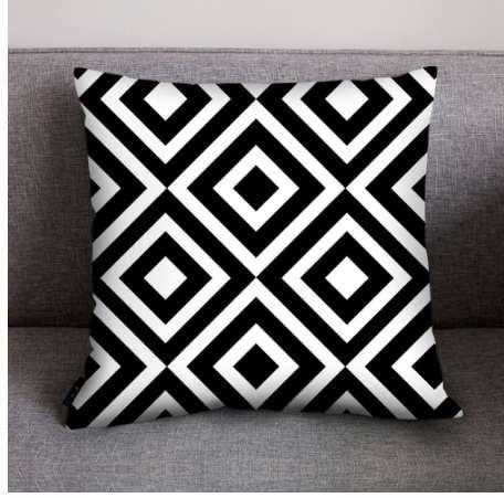 Print Pillow Case Polyester Pillowcase Throw Pillows Luxury Black Throw  Pillow Covers Christmas Pillow Covers Decorative Long Pillow Case Pillow  Slip ...