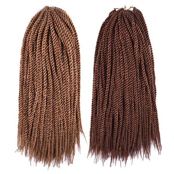 best selling Clearance Sale Senegal Twist Hair Extensions Twist Crochet Braiding Hair Synthetic Jumbo Hair Braiding Senegalese In bundles 18Inch 201G