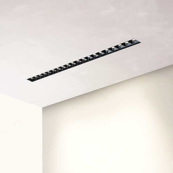 best selling Unvisible LEDs Unit Magnetic Linear Simple Design LED 0-10V Triac Dimming Embedded Trimless Light 30 deg. 90Ra