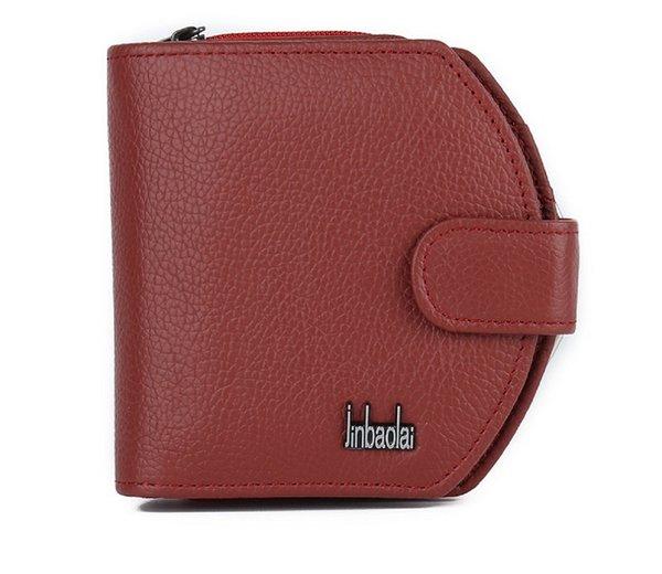 Genuine Leather Women Men Wallet Female Male Purse Coin Small Short For Wallet Cuzdan Vallet Money Bag Kashelek Portomonee Klachi