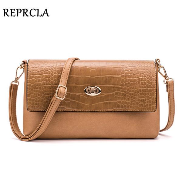 REPRCLA Fashion Women Shoulder Bag Designer Handbag Leather Women's Crossbody Messenger Bags Ladies Purse Female Flap Bolsa