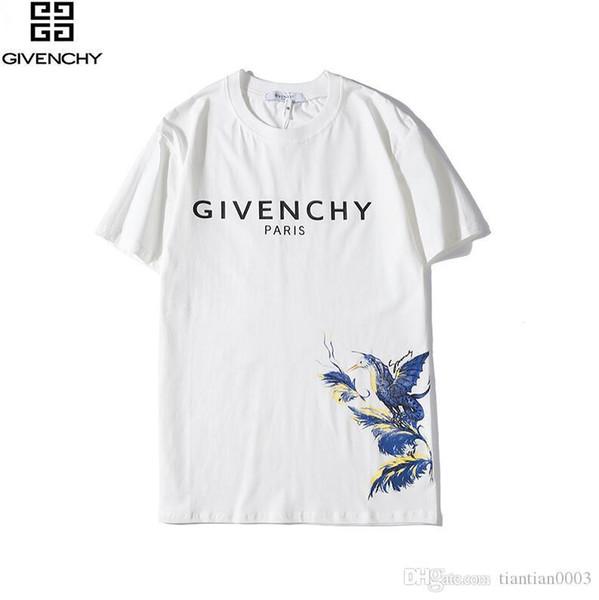 2020 Ladies Summer Luxury Paris crew neck black T-Shirt Women Fashion Cotton Short Sleeve Tshirt mens Womens letter Print Tops Tees42