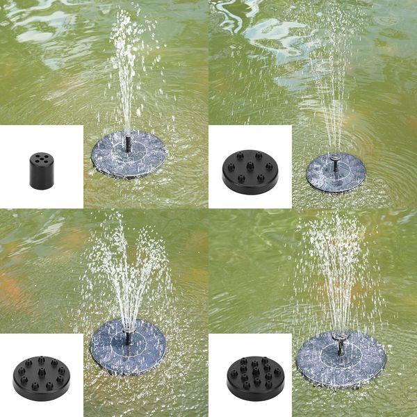 best selling Solar Power Fountain Brushless Water Pump Garden Plants Bird Bath Fountains For Oxygen Circulation Fish Tank Pool Aquarium Submersible Pond