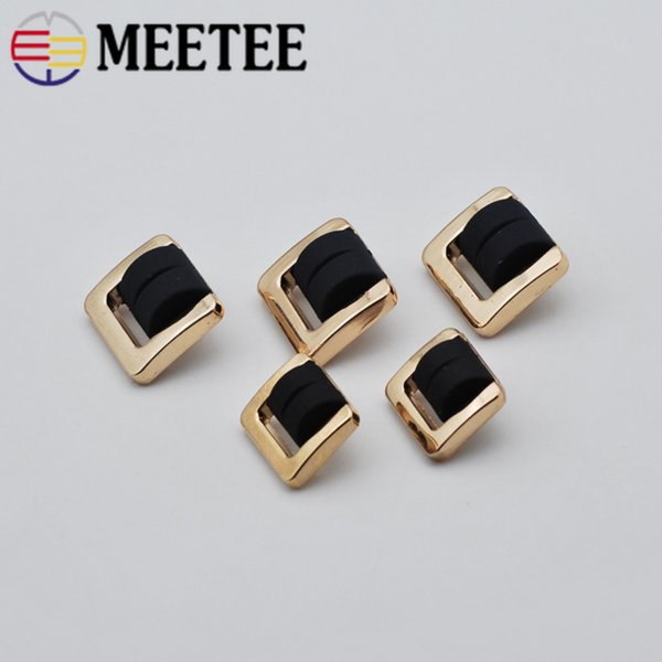 Meetee 20*17mm Metal Snap Buttons Press Studs Fasteners Button DIY Garment Decor Buckle Crafts Sewing Accessories CN015