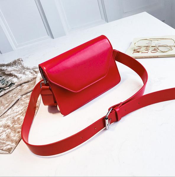 wholesales 2019 new wave broadband shoulder bag korean wild messenger bag simple fashion small square bag