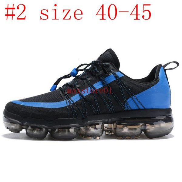 #2 black blue size 40-45