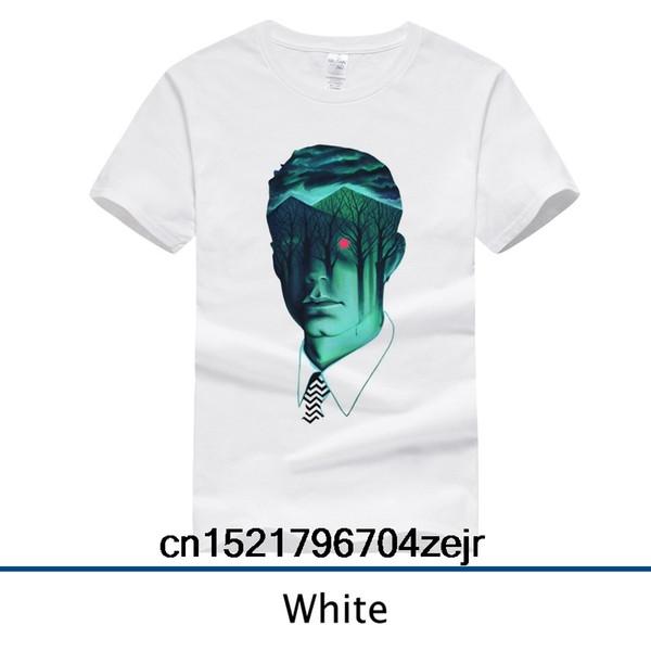 Männer T-Shirt Die Twin Peaks Mode O-Neck T-Shirt lustige T-Shirt Neuheit T-Shirt Frauen