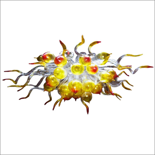 Luxury home décor Chihuly glass pendant lighting Modern Art Design Wedding Centerpieces Free Air Shipping Staircase Chandeliers
