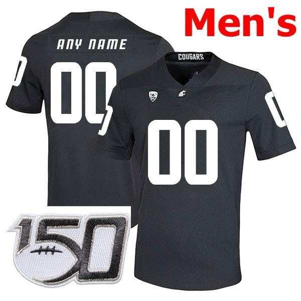 Mens Black With 150th Patch