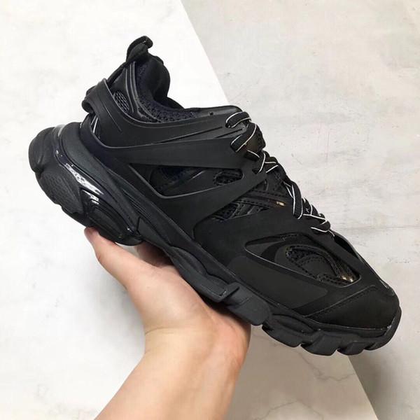 Designer di lusso Triple S 3.0 Sneakers uomo Scarpe Casual donna piattaforma esterna Sneakers Tess S. Gomma Trek rete di nylon Traccia Formatori d09