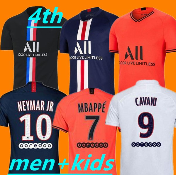 2020 Maillots De Football Kit 19 20 PSG Soccer Jersey 2019 2