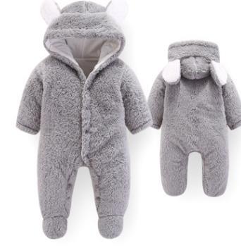 #2 Baby Hooded Rompers