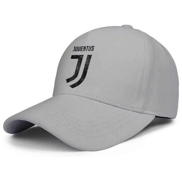Juventus F.C.La Vecchia La Madama JFC Distressed custom Men Women snapback Adjustable trucker caps Luxury Summer Flat caps Outdoor grey