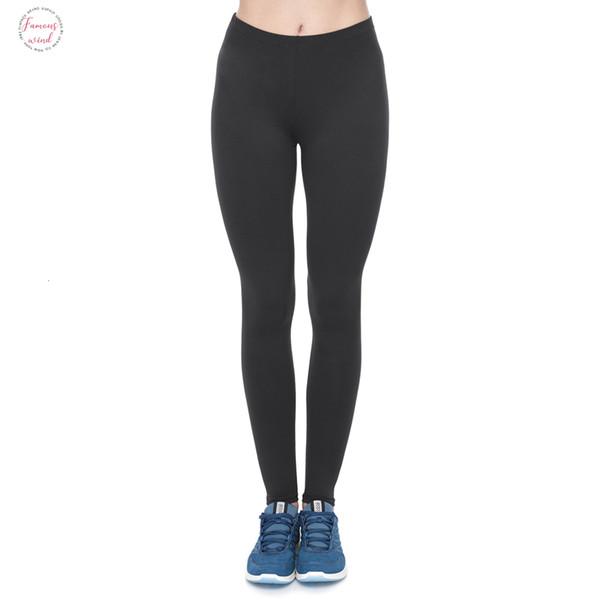 Мода Новых Женщины Legging Фитнес черные Женские гетры вскользь Прочная женщина брюки хорошего качество перевозка груз падения