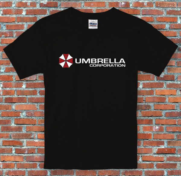 Umbrella Corporation Resident Evil Zombies Game Movie Inspired T Shirt S - 2XL Funny free shipping Tshirt top