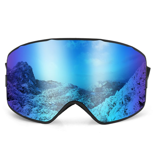 25080068f73 men women ski goggles Promo Codes - UV400 Skiing Goggles Men Women  Snowboard Goggles Glasses OTG