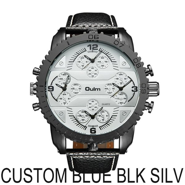 CUSTOM BLUE BLK SILV