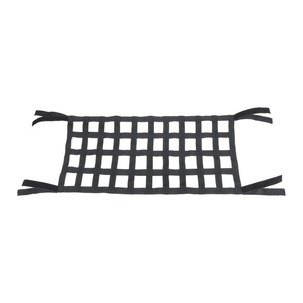 Heavy Duty Sunshade Exterior Auto Accessories Cargo Roof Net Soft Top Cover Car Hammock Rest Bed For JK 07-18