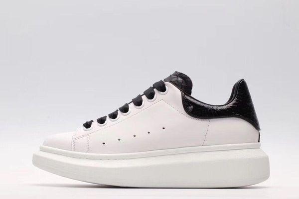 2019 новый роскошный повседневная обувь черный белый розовый золото дизайнер комфорт довольно мужская обувь повседневная кожаная обувь мужчины женщины кроссовки jx18062603