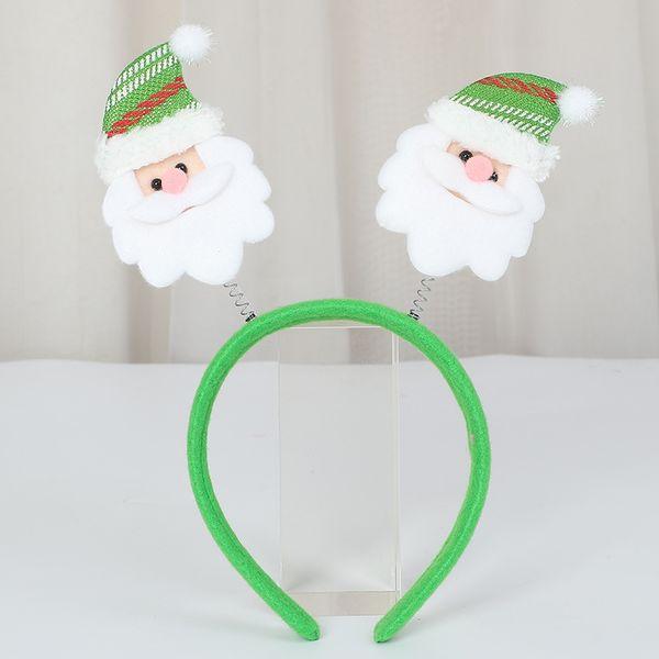 santa - cappello verde