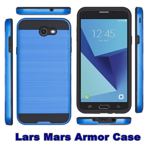 Híbrido Protector Case telefone à prova de choque macio dura Armadura MARS para MOTO E5 E5 jogar Samsung A10 A2 núcleo Detalhe Package 30PCS cada cor At Least