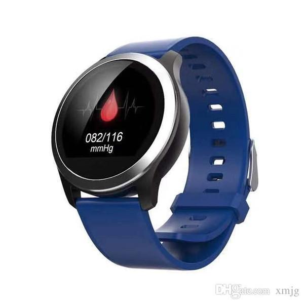 ECG + PPG N59 Smart WatchHeart Taux Pression Artérielle Fitness Tracker Montre IP68 Étanche Smartwatch pour Android IOS Téléphone VS DZ09 GT08