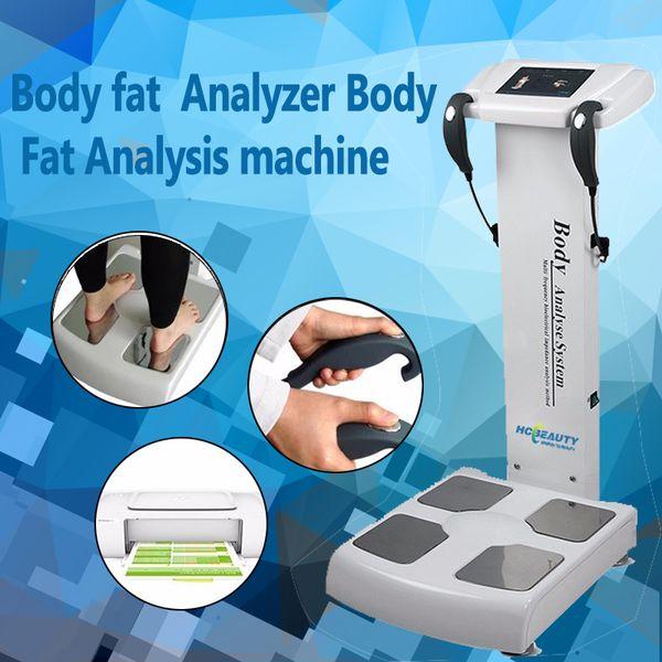 Factory Price !!! Professional Body Fat Analyzer/Body Composition  Analyzer/Body Element Analyzer CE/DHL Salon Equipment Wholesale Salon  Furniture For