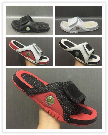 Toptan 13 terlik 13 s Mavi siyah beyaz kırmızı sandalet Hidro Slaytlar basketbol ayakkabıları ile rahat koşu sneakers boyutu 7-13 kutu