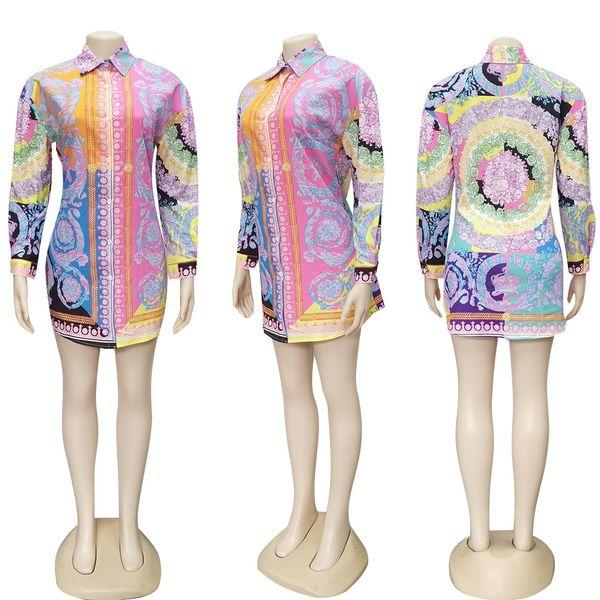 Camisas multicolores