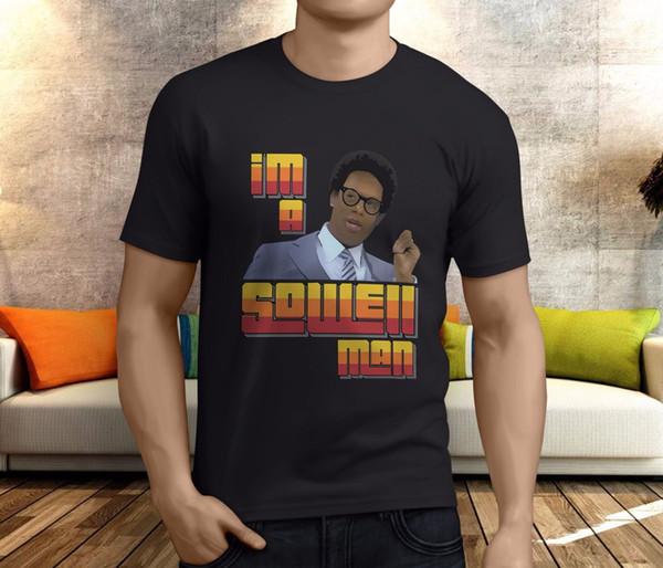 Nouveau populaire Im un homme Sowell T-shirt noir S-3XLFunny de Thomas Sowell Hommes livraison gratuite Unisexe Casual Tshirt top