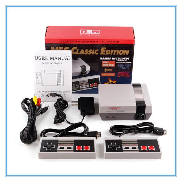Classic Game TV Video Handheld Console Sistema di intrattenimento più recente Giochi classici per 500 nuove console modello di gioco NES Mini