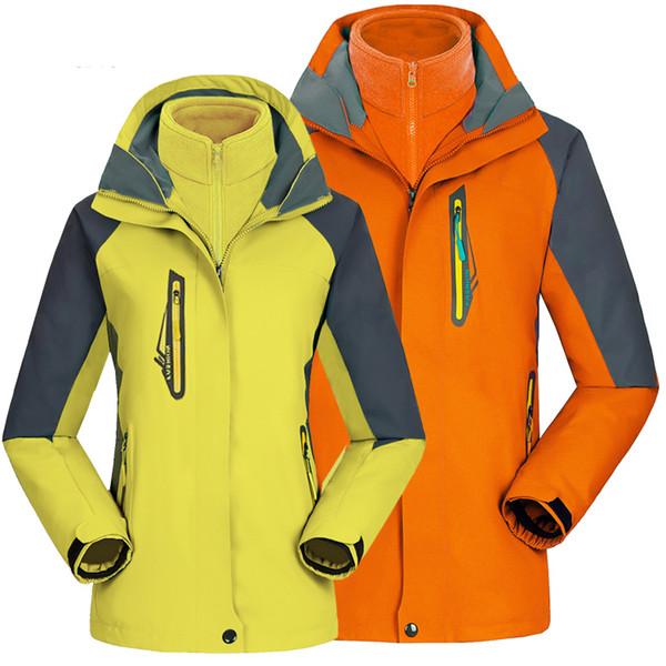 Mountain Waterproof Ski Jacket with Hood Outdoor Breathable Raincoat Windproof Rain Jacket Insulated Sportswear for Hiking