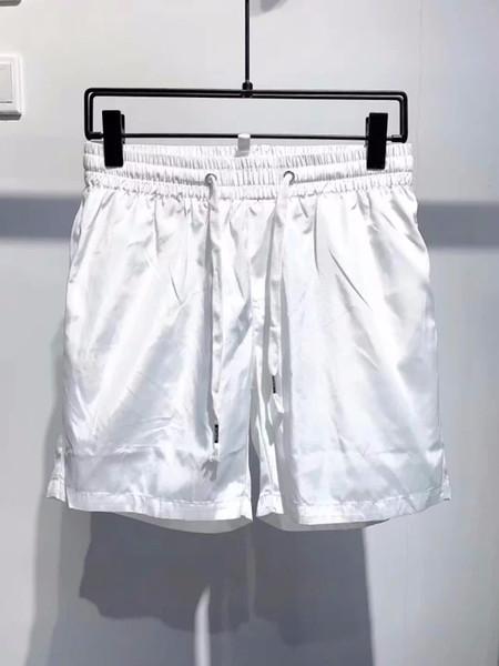 Pantalones cortos para hombres de secado rápido de gama alta de moda playa de surf pantalones cortos sueltos impresas en caliente bañador primavera K129 QQV35GAM